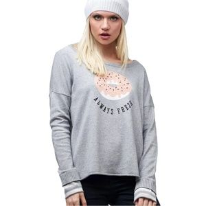 Neiman Marcus Sweaters - Lisa Todd Always Fresh Graphic Pullover Sweater(M)